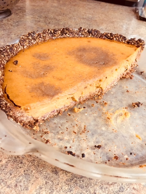 The Best Pumpkin Pie You'll Ever Eat (Gluten and Dairy Free)