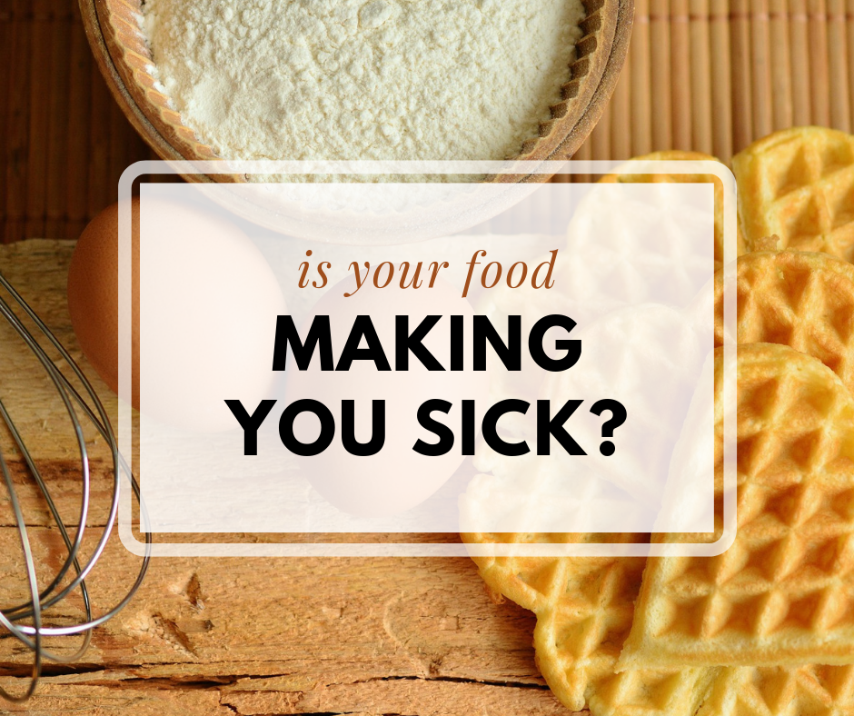 Is Your Food Making You Sick?